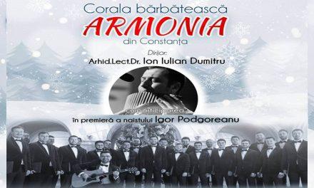 """CONCERTUL DE COLINDE AL CORALEI """"ARMONIA"""""""