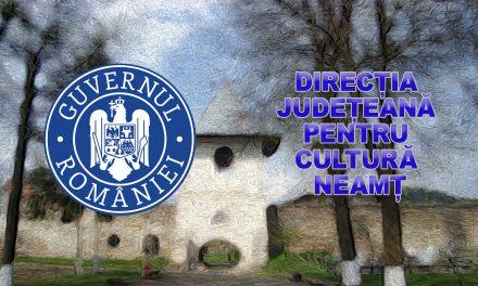 Conferință de presă – Direcția Județeana de Cultură Neamț – 28.01.2019