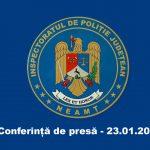 Conferință de presă I.P.J. Neamț 23.01.2019