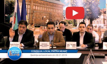 Consiliul Local Piatra Neamț din 08 01 2019