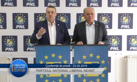 Conferință de presă PNL Neamț – 23.02.2019