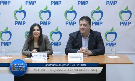 Conferință de presă PMP Neamț – 23.02.2019