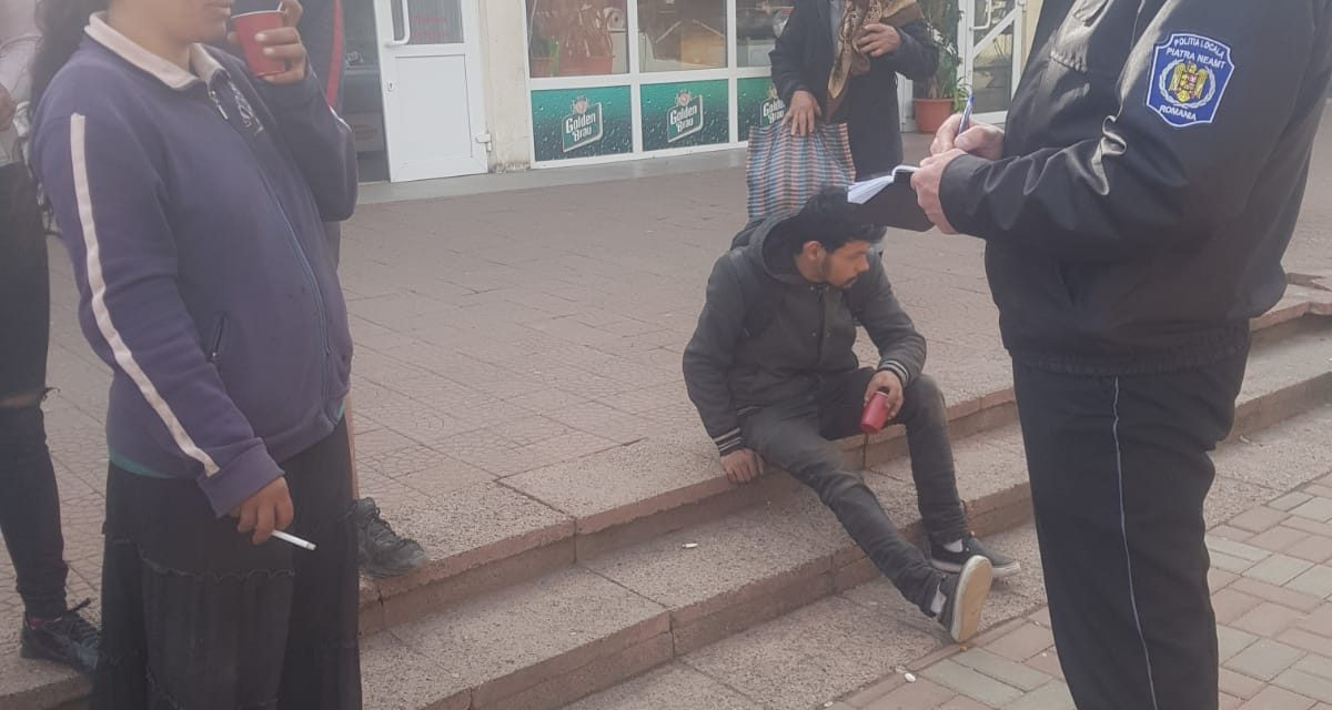 Polițiștii locali din Piatra neamț au aplicat într-o singură zi 56 de amenzi contravenționale