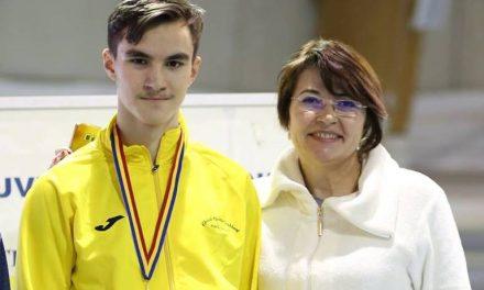 Robert Gavril, vicecampion național la atletism