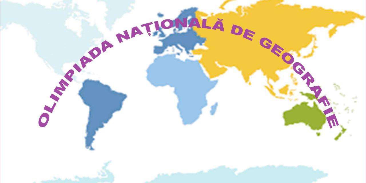 Vezi lista celor 10 elevi calificați la faza națională a olimpiadei de geografie