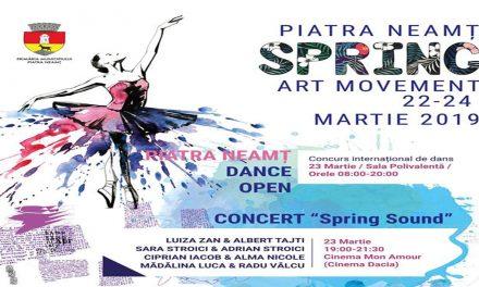 Spring Art Movement la Piatra Neamt