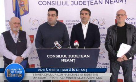 VIZITĂ MINISTERIALĂ ÎN NEAMŢ – 01.03.2019