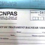 O nouă serie de bilete de tratament prin Casa Județeană de Pensii Neamț