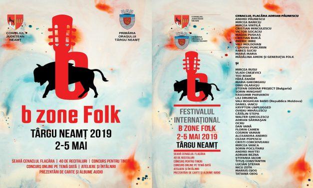 Festival B Zone Folk Târgu- Neamț