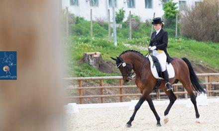 Anca Roman, campioană la dresajul cailor