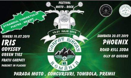 Iris și Phoenix la Piatra-Neamț, la festivalul Carpat Bikers!