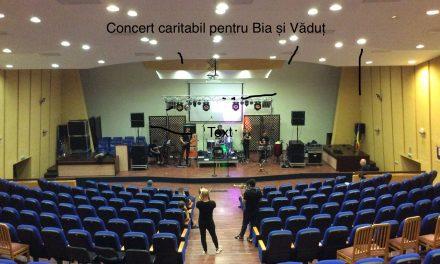 Concert caritabil pentru BIA și VLĂDUȚ