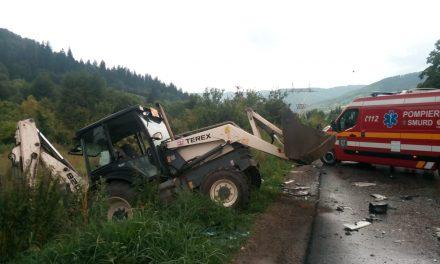 Accident rutier la Pângărați!