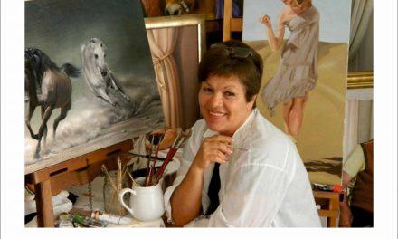 Expoziție de pictură Carmen Cărbunariu