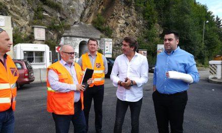 Ministrul Răzvan Cuc a verificat stadiul lucrărilor din Județul Neamț