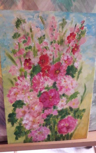 """""""Bucurii de vară"""" – expoziție de pictură la biblioteca GT Kirileanu"""