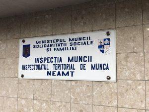inspectoratul teritorial de munca