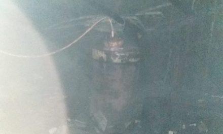 Incendiu la Mănăstirea Nechit! Un cazan de făcut țuică a luat foc!