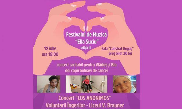 Concert caritabil pentru Vlăduț și Bia