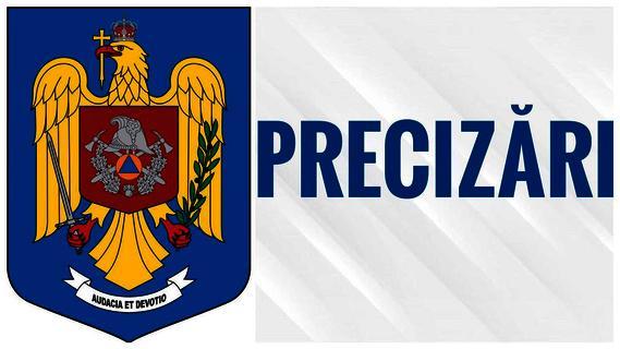 IGSU-precizări privind prezența unui nor radioactiv deasupra României!