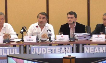 Ședința Consiliului Județean Neamț 27.08.2019