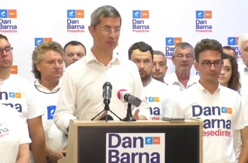 Candidatul la Preșidenția României Dan Barna la Piatra Neamț