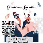 Zilele Orașului Tîrgu Neamț – septembrie 2019