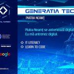 """Lansarea proiectului  """"Generaţia Tech"""" la Piatra Neamț"""
