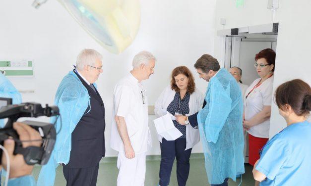 Vizită fulger la SJU Neamț