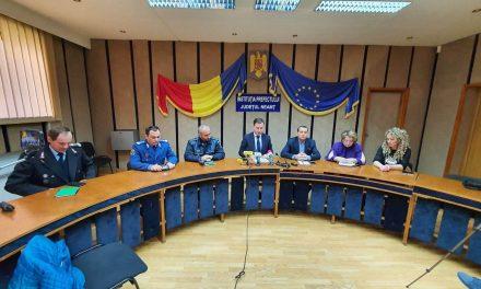 Conferință de presă, Prefectura Neamț 16.03.2020
