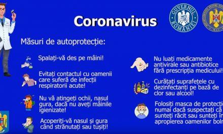 Măsuri de autoprotecție #coronavirus