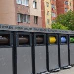 Se înlocuiesc pubelele pentru deșeuri în cartierele Mărăței și 1 Mai