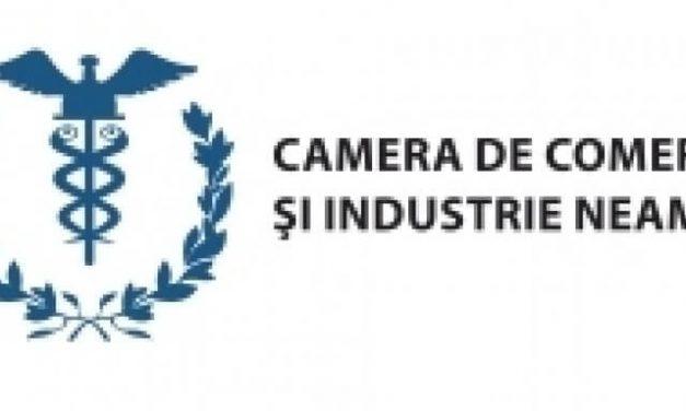 Consultări ale Camerei de Comerț și Industrie Neamț cu mediul de afaceri