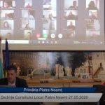 Ședința Consiliului Local Piatra Neamț din 27.05.2020