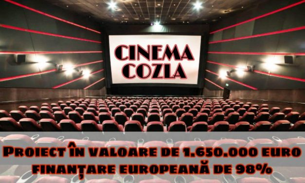 Cinematograful Cozla va fi reabilitat și modernizat cu fonduri europene