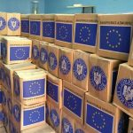 Tranșa a II-a de distribuire a pachetelor cu produse de igienă