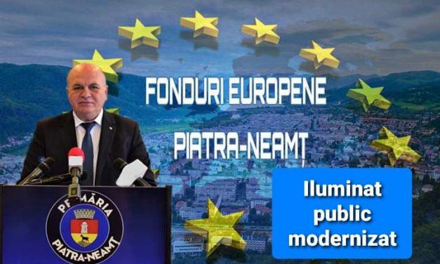 Investiții în extinderea și modernizarea sistemului de iluminat public