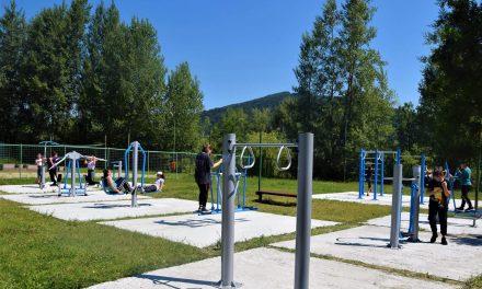 Zone de fitness în aer liber amenajate în Piatra-Neamț