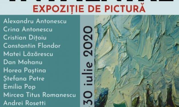 """Vernisajul expoziţiei de pictură intitulată """"Întâlnire"""""""