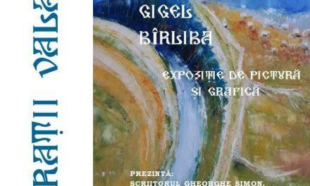 VIBRAŢII VALAHE – EXPOZIȚIE ARTĂ PLASTICĂ – GIGEL BÎRLIBA