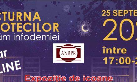 Nocturna Bibliotecilor, în variantă on-line, la Biblioteca Județeană