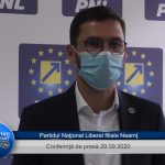 Conferință de presă PNL Neamț 29.09.2020