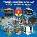 26 de proiecte europene în valoare de 53.5 milioane de euro