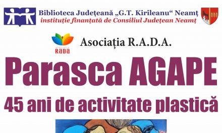 Expoziție de pictură și grafică Parasca Agape la Biblioteca Județeană