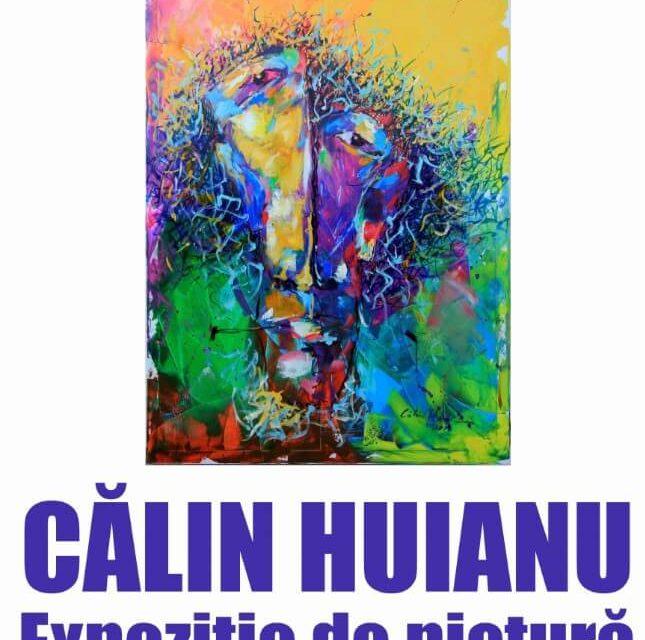 Expoziție de pictură Călin Huianu, la Biblioteca Județeană