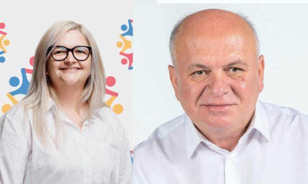 Mădălina Ciubotaru şi Dragoş Chitic sunt noii vicepreşedinţi ai Consiliului Judeţean Neamţ