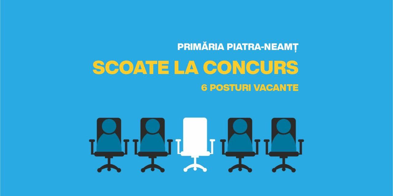 Primăria Piatra Neamţ caută noi colegi dornici să se implice în dezvoltarea orașului!