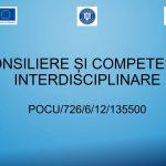 """Consiliere și Competențe Interdisciplinare"""