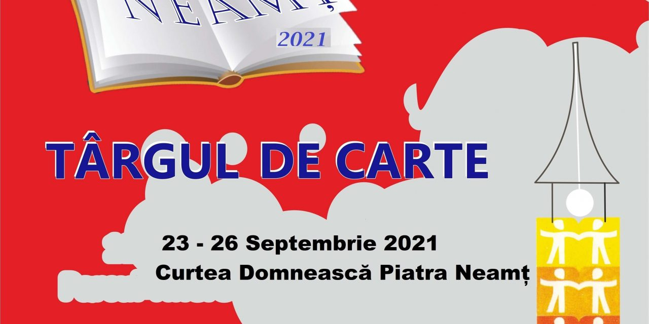 """Conferință de presă CCI Neamț 20.09.2021 – Târgul de carte """" Libris """" 2021"""
