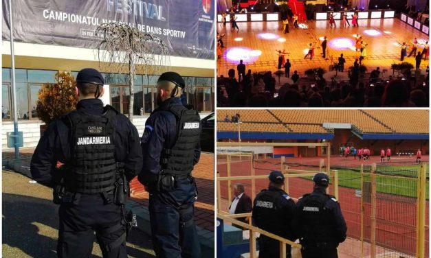 Manifestările sportive în atenția jandarmilor  nemțeni